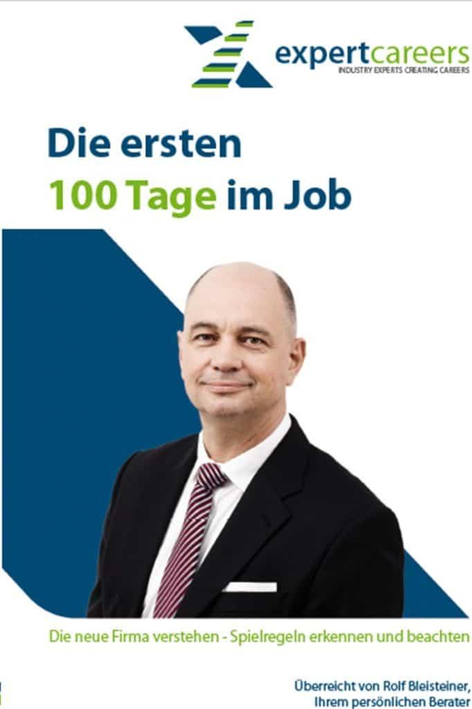 Die ersten 100 Tage im Job