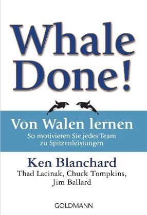 Buchempfehlungen - Whale Done - von Walen lernen